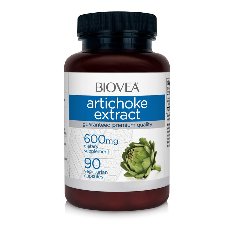 Anghinare - Artichoke extract 600 mg 90 pastile